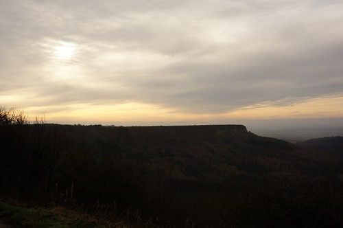 Roulston Scar from Sutton Bank, North York Moors