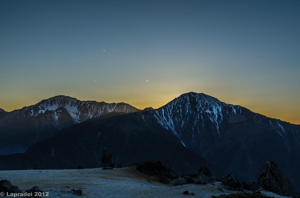 20121103 白根三山