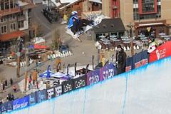 Šárka Pančochová zvítězila v kvalifikaci Slopestyle v závodu SP v Cooper Mountain