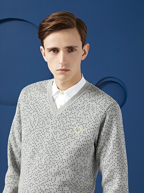 Alex Dunstan0224_FRED PERRY LAUREL WREATH SS13(Fashion Press)