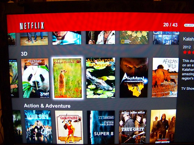 how to search for movies on netflix