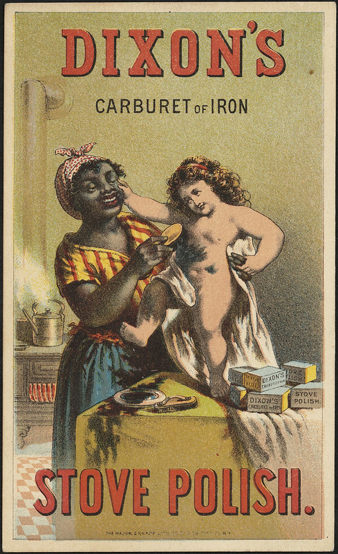 Dixon's Carburet of Iron Stove Polish. [front]