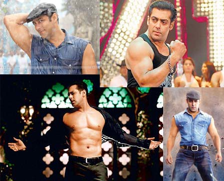 Salman Khan of 2011, in the movie Bodyguard