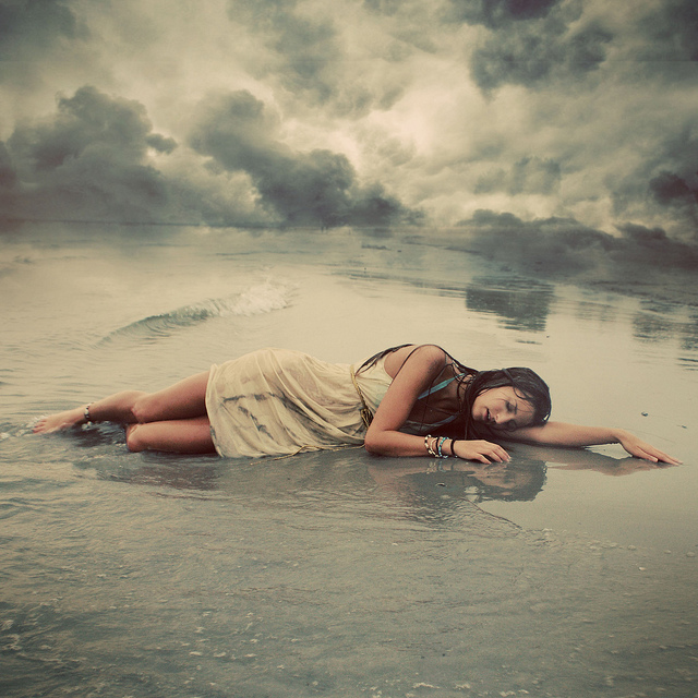 Conceptual portrait photography by Mariesol Fumy