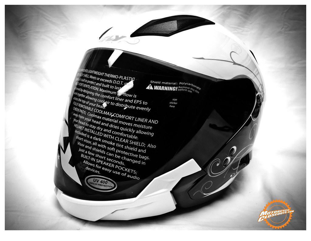 Fly Racing Tourist Street Helmet at MotorcycleCloseouts.com