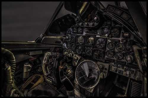 art airplane nikon cockpit delta dart hdr f106 d7000 ©markpatton