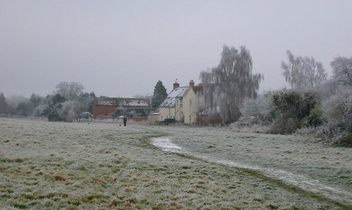 rear of Lakes Lane from the common