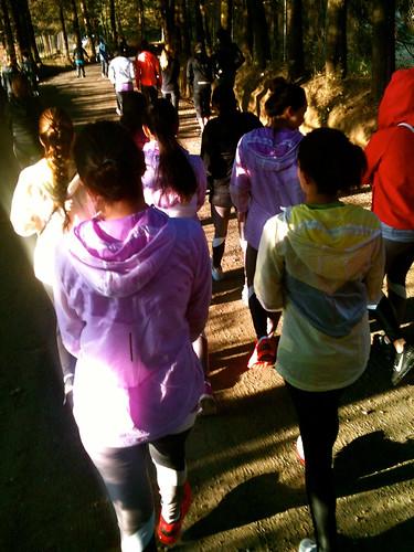 Chicas corredores Nike Nosotras Corremos