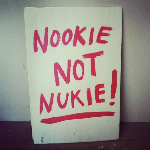 LOOK NOOK open! 12-6pm. #nookienotnukie