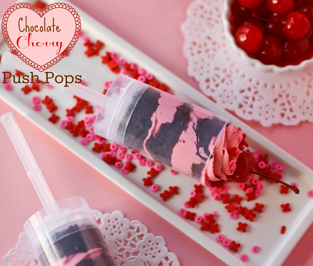 Chocolate Cherry Push Pops