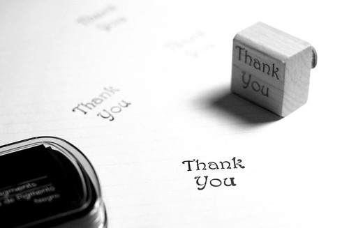 Thank You For The Thank You Stamp