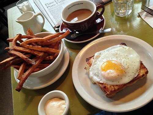 Sunday Brunch at Cafe Presse, First Hill, Seattle