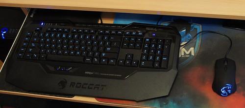 ROCCAT Isku FX šviesioji žaidimų klaviatūra