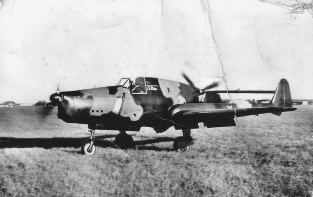 Fokker D.23 ground