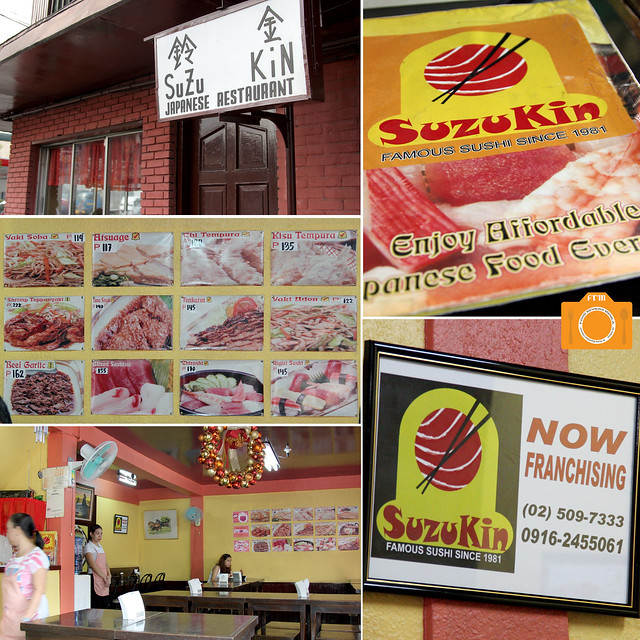 Suzu Kin facde interiors menu