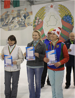 Победитель и призеры среди женщин