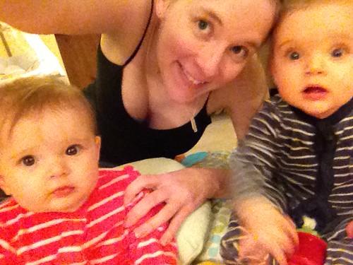 Zoe, Mama & Grace