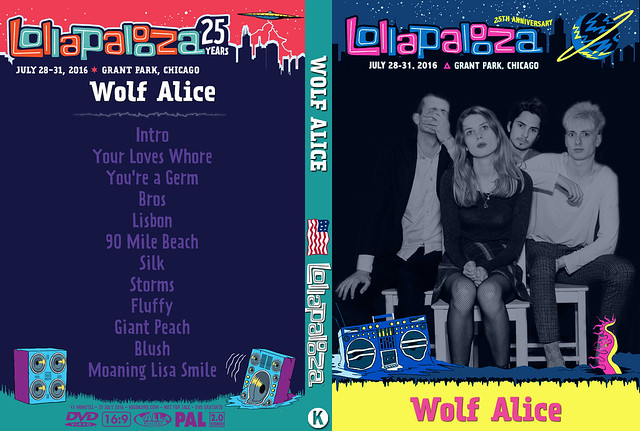 Wolf Alice - Lollapalooza Chicago 2016