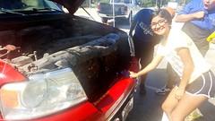 Senior class car wash