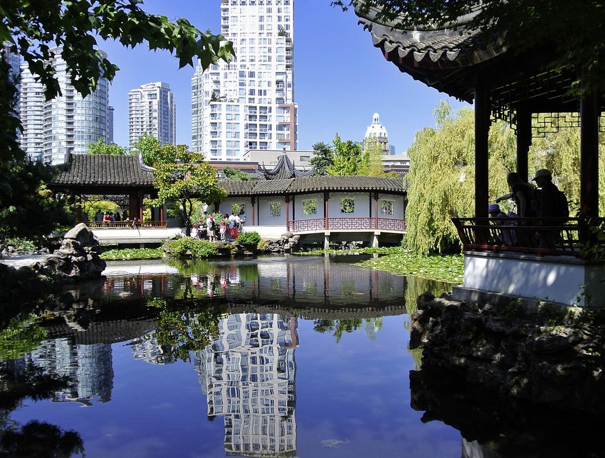 Dr. Sun Yat-Sen Garden, Vancouver, BC, Canada. Credit Damahevi