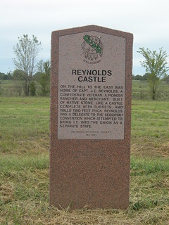 Reynolds Castle Historic Marker