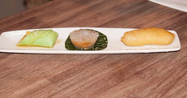 Kaya Malay Bistro/dessert trio