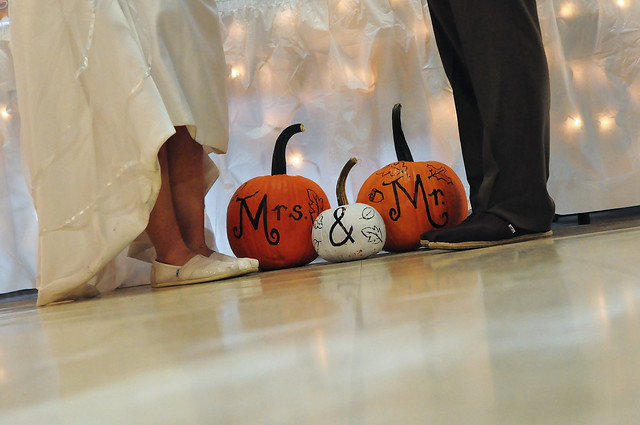 Mr. & Mrs. Pumpkins and TOMS
