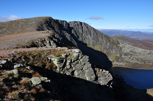 The cliffs of Lochnagar