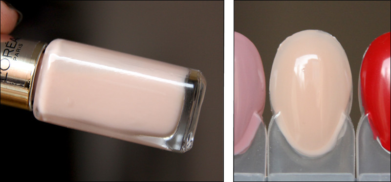 Creamy angora swatch