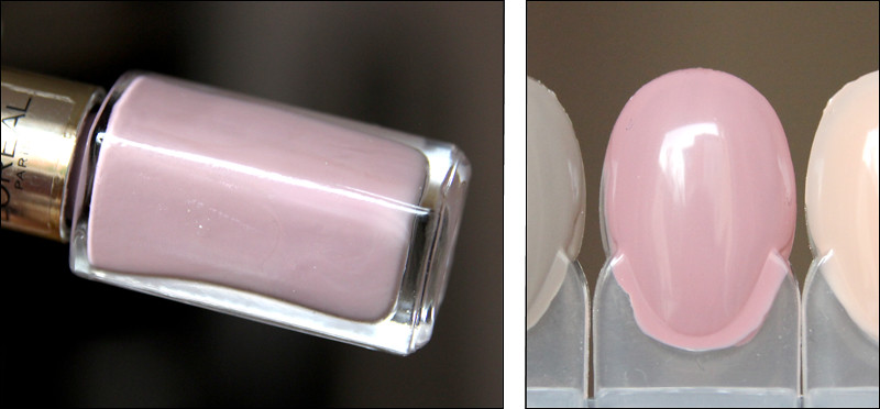 rose cashmere swatch