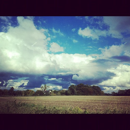 Clouds were amazing in #Suffolk today.