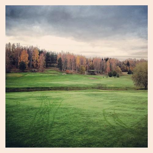 espoo suomi finland golf october 2012 egs lokakuu