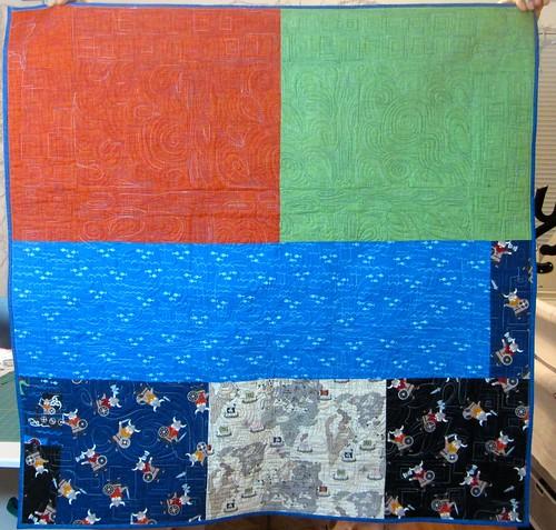 back of rune quilt
