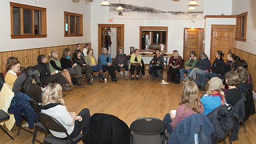 Nobel Women's Initiative delegation meeting with women community members in Smithers, BC Credit: Nobel Women's Initiative