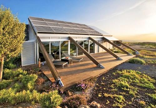 Дом с нулевым энергопотреблением и собственной ВЭУ на Канарских островах