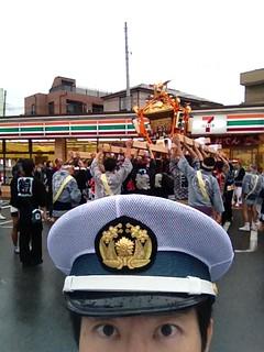 2012/10/14 蕨市郷町会 祭り