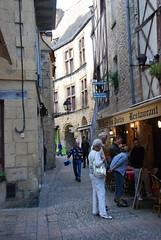 Restaurant en ruelle