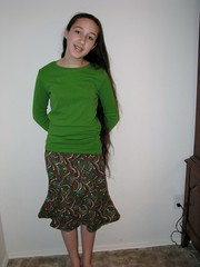 Destini's Corduroy Skirt 2