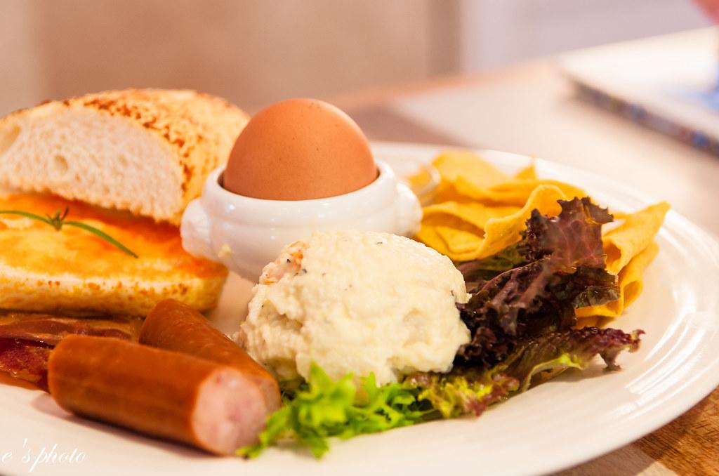 台中早午餐-胖達咖啡