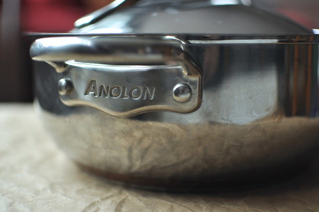 Anolon Nouvelle Cuisine 4-Quart Casserole