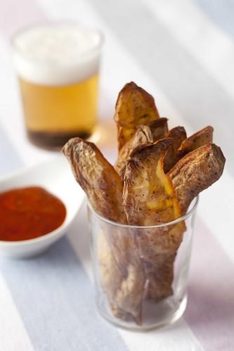 Xips de pell de patata amb mojo1