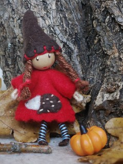 Animal gnome bendy doll---SOLD!