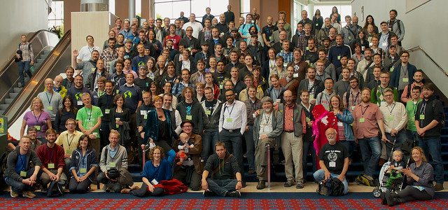 State of the Map US 2012 group photo