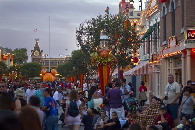 Disneyland Halloween Time