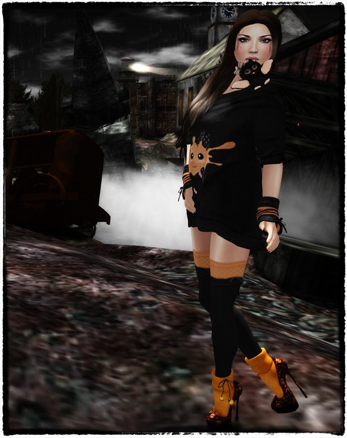 Black & Orange 1