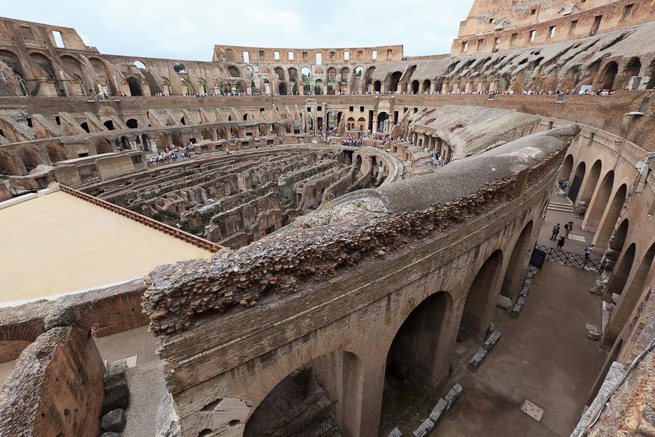 Колизей - одно из самых посещаем мест в мире