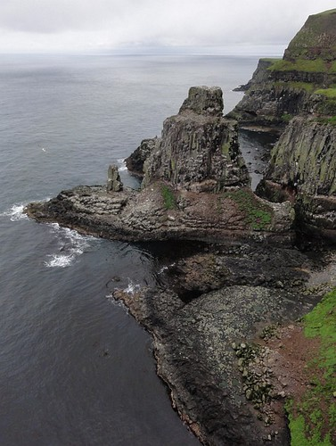 Cliffs and Seabirds at the Rathlin Island RSPB Site