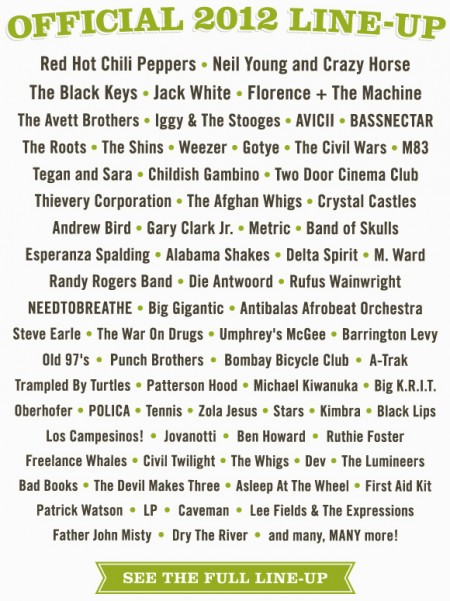 acl-2012-lineup