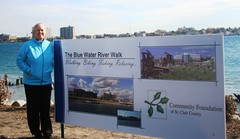 Rep. Candice Miller attended the groundbreaking ceremony on October 11th for the Blue Water River Walk project in Port Huron, MI.  The Blue Water River Walk project is a public-private partnership led by the Community Foundation of St. Clair County and will create a new family-and wildlife-friendly waterfront for the whole community to enjoy.