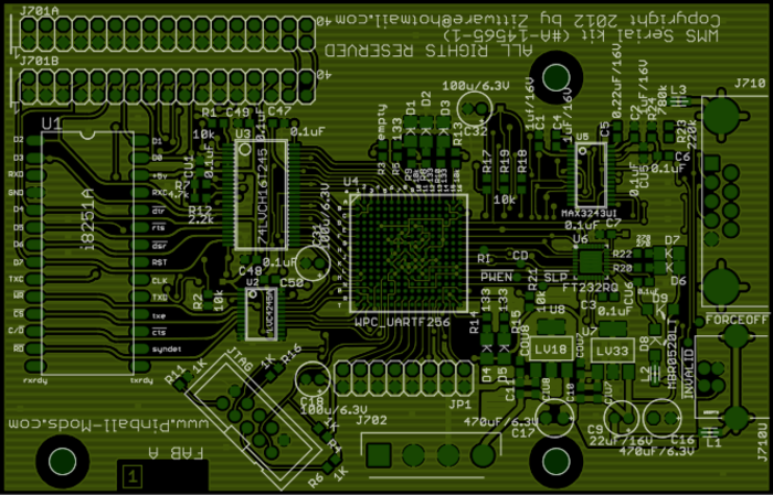 FabA PCB top layer